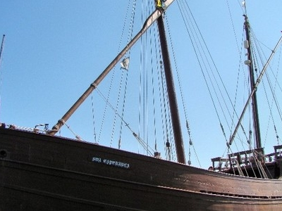 Replica Of The Caravel Boa Esperança In Lagos