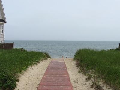 Boardwalk To The Depot Street Beach