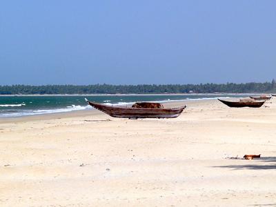 Boat At Tarkarli Beach