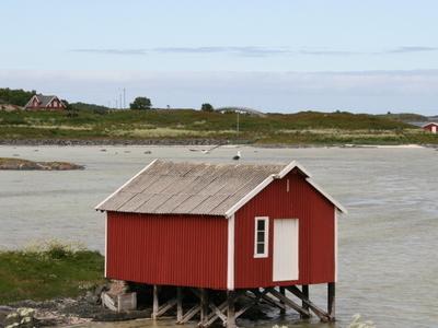 Boathouse On  Krottoy