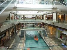 Boating Through Retail Belt