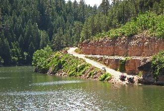 Boat Launch Area At Blue Ridge Reservoir