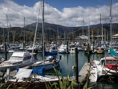 Boats @ Nelson Port - South Island NZ