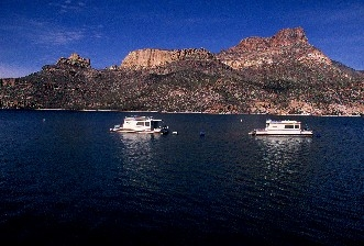 Boats On Apache Lake