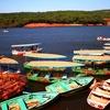 Boats On The Venna Lake In Mahabaleshwar