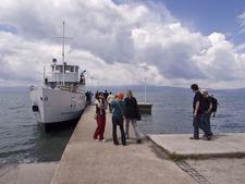 Boat Trip In Ohrid Lake