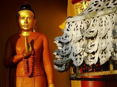 Bodhisattva Figure @ Dhatu Jadi Temple - Bandarban - Bangladesh