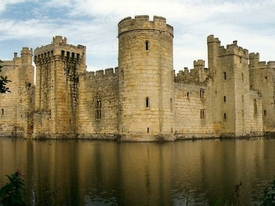 Bodiam Castle Shadow