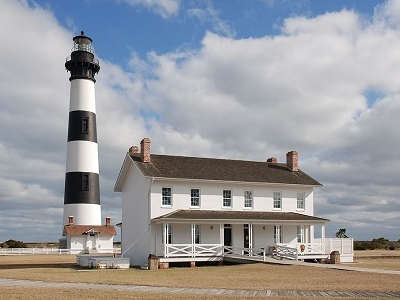 Bodie Island Lighthouse & Keeper's Quarters - North Carolina