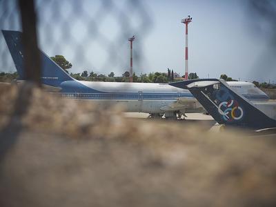 Boeing 747-200 Olympic Eagle, Ellinikon International Airport
