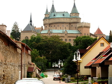 Castle From Town