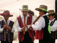 Bolivian Children Playing Tarka