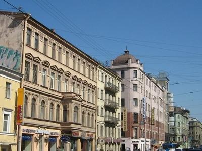Bolshoy Prospekt Of Petrograd Side