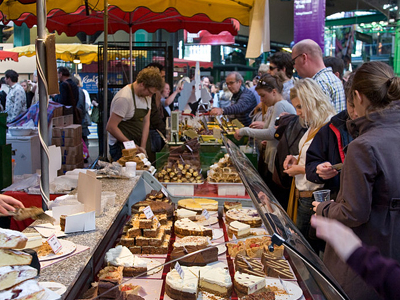 Borough Market Cake Stall
