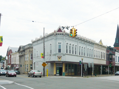 Borough Of  North  East  Pennsylvania  Business  District