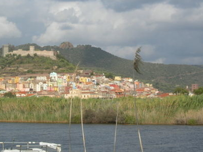 Bosa And Its Castle