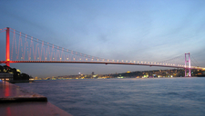 View Of Bosphorus Bridge