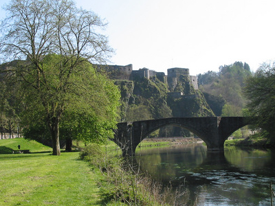 The Semois River And The Castle