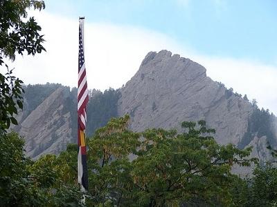 Boulder CO Flatirons