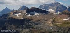 Boulder Glacier Montana USA