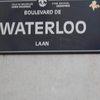 Boulevard De Waterloo Sign
