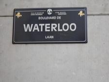 Boulevard De Waterloo Sign