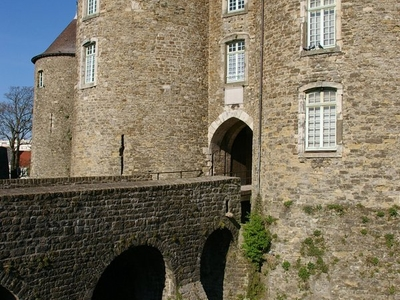 Entrance To Boulognes Castle