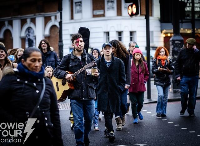 Group Discount for Bowie Tour London Photos