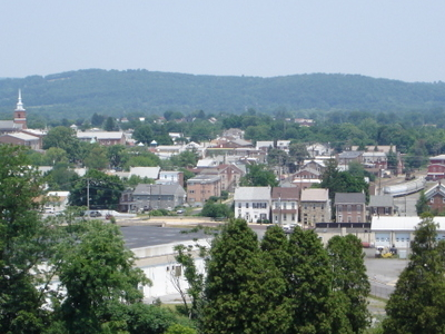 Boyertown Viewed From Atop Cannon Hill
