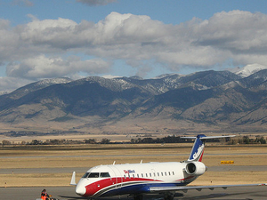 Yellowstone Bozeman Aeropuerto Internacional