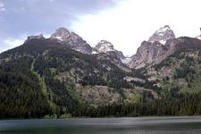 Bradley Lake Trailviews - Grand Tetons - Wyoming - USA