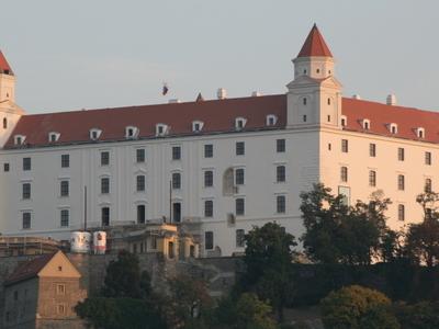 View Of Bratislava Castle