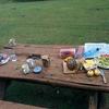 Breakfast Table @ Mt Elgon National Park UG&KE