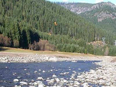 Breitenbush River In Willamette National Forest