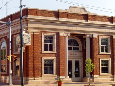 Bremen  Indiana  Town  Hall