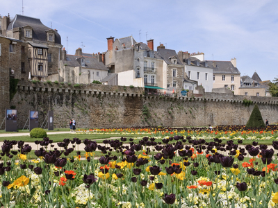 City Walls Of Vannes