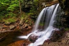 B. Reynolds Falls In Ricketts Glen State Park PA
