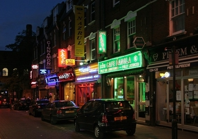 Curry Restaurants In Brick Lane