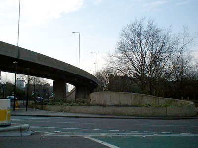 Bricklayers' Arms Roundabout And Flyover