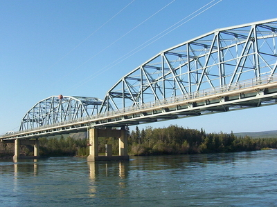 Bridge Across Yukon River