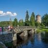 Bridge From Savonlinna To Ovalinlinna Castle