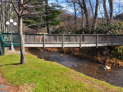 Bridge Of  North  Toe  River In  Newland