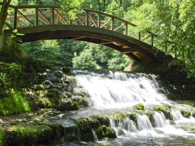 Bridge On  Vrelo  Bosne