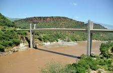 Bridge Over Blue Nile In Ethiopia