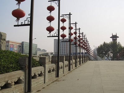 Bridge Over Qinhuai River At Nanjing