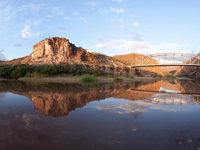 Bridge Over Salt River