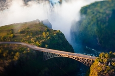Bridge Over Victoria Falls - Zimbabwe