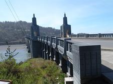 Bridge Over Rogue River In Gold Beach