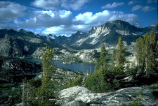 Bridger-Teton National Forest - Island Lake