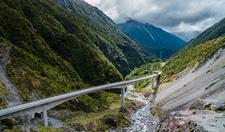 Bridge Through Arthurs Pass - South Island NZ